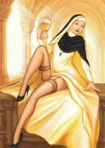 bière blonde d'abbaye